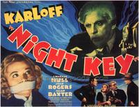 Night Key - 43 x 62 Movie Poster - Bus Shelter Style A