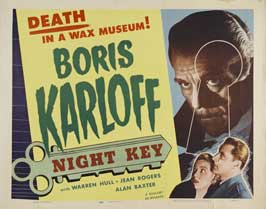 Night Key - 30 x 40 Movie Poster UK - Style A