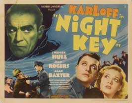 Night Key - 11 x 14 Movie Poster - Style A