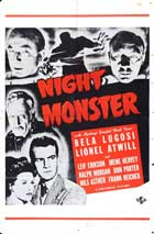 Night Monster - 11 x 17 Movie Poster - Style A