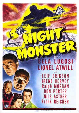 Night Monster - 11 x 17 Movie Poster - Style B