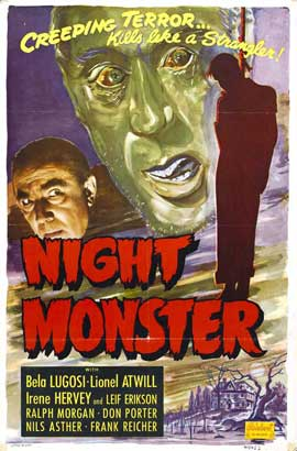 Night Monster - 27 x 40 Movie Poster - Style B