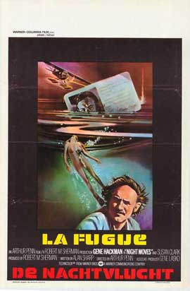 Night Moves - 11 x 17 Movie Poster - Belgian Style A
