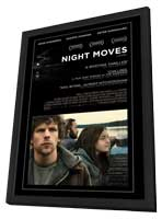Night Moves - 27 x 40 Movie Poster - Style A - in Deluxe Wood Frame
