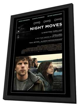Night Moves - 11 x 17 Movie Poster - Style A - in Deluxe Wood Frame