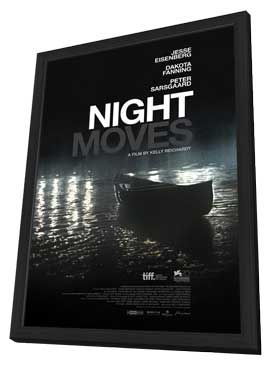 Night Moves - 11 x 17 Movie Poster - Style B - in Deluxe Wood Frame
