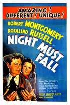 Night Must Fall - 11 x 17 Movie Poster - Style B
