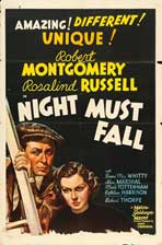 Night Must Fall - 27 x 40 Movie Poster - Style C