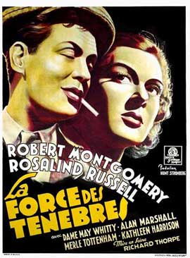 Night Must Fall - 11 x 17 Movie Poster - French Style A