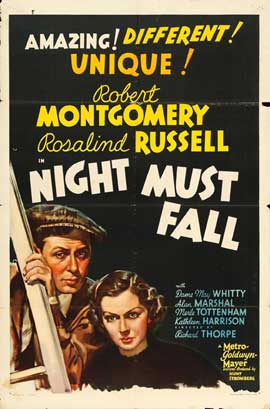 Night Must Fall - 11 x 17 Movie Poster - Style C