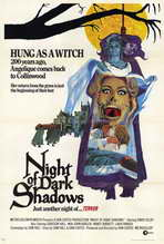 Night of Dark Shadows - 27 x 40 Movie Poster - Style A