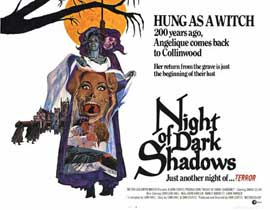 Night of Dark Shadows - 11 x 14 Movie Poster - Style A