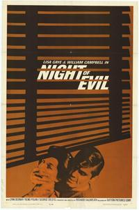 Night of Evil - 11 x 17 Movie Poster - Style A