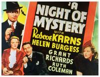Night of Mystery - 11 x 14 Movie Poster - Style A