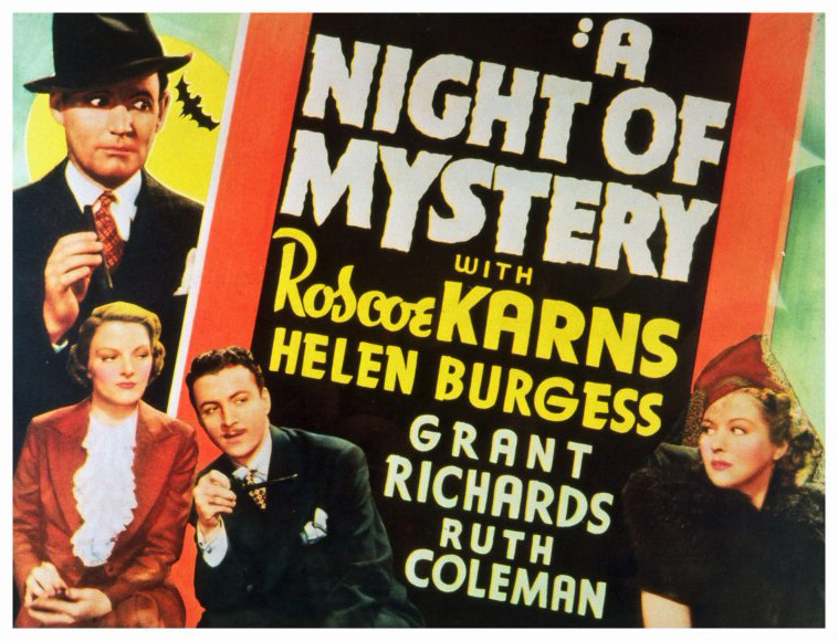 dvd night of mystery 1937