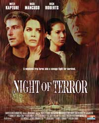 Night of Terror - 43 x 62 Movie Poster - Bus Shelter Style A