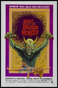 Night of the Blood Monster - 11 x 17 Movie Poster - Style A