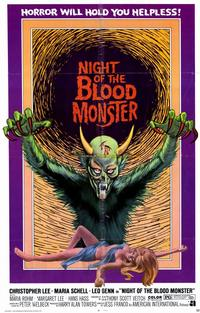 Night of the Blood Monster - 11 x 17 Movie Poster - Style B