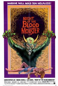 Night of the Blood Monster - 27 x 40 Movie Poster - Style B