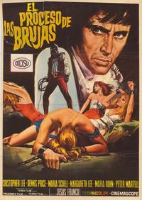 Night of the Blood Monster - 11 x 17 Movie Poster - Spanish Style A