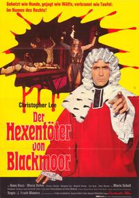 Night of the Blood Monster - 11 x 17 Movie Poster - German Style A