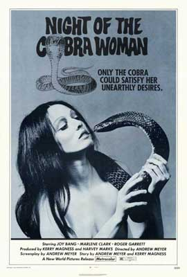 Night of the Cobra Woman - 27 x 40 Movie Poster - Style A