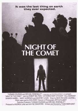 Night of the Comet - 11 x 17 Movie Poster - Style B
