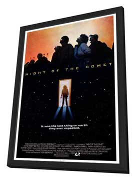Night of the Comet - 11 x 17 Movie Poster - Style A - in Deluxe Wood Frame
