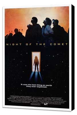 Night of the Comet - 11 x 17 Movie Poster - Style A - Museum Wrapped Canvas