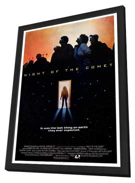 Night of the Comet - 27 x 40 Movie Poster - Style A - in Deluxe Wood Frame