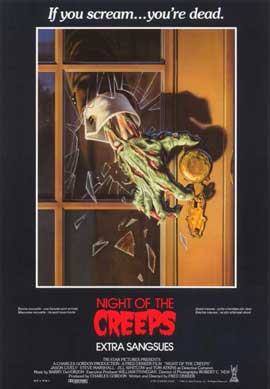 Night of the Creeps - 11 x 17 Movie Poster - Belgian Style A