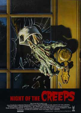 Night of the Creeps - 11 x 17 Movie Poster - Style C