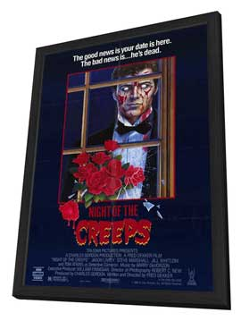 Night of the Creeps - 11 x 17 Movie Poster - Style A - in Deluxe Wood Frame