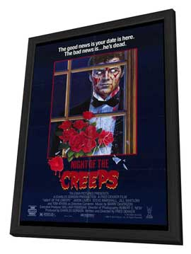 Night of the Creeps - 27 x 40 Movie Poster - Style A - in Deluxe Wood Frame