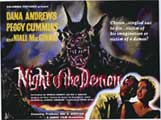 Night of the Demon - 43 x 62 Movie Poster - Bus Shelter Style A