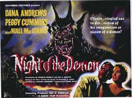 Night of the Demon - 11 x 17 Poster - Foreign - Style A