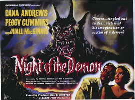 Night of the Demon - 27 x 40 Movie Poster - Foreign - Style A