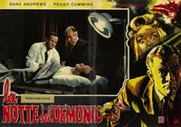 Night of the Demon - 27 x 40 Movie Poster - Italian Style A