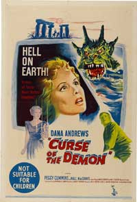 Night of the Demon - 27 x 40 Movie Poster - Australian Style A