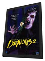 Night of the Demons 2 - 27 x 40 Movie Poster - Style A - in Deluxe Wood Frame