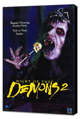 Night of the Demons 2 - 27 x 40 Movie Poster - Style A - Museum Wrapped Canvas
