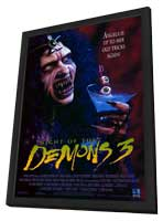 Night of the Demons 3 - 11 x 17 Movie Poster - Style A - in Deluxe Wood Frame