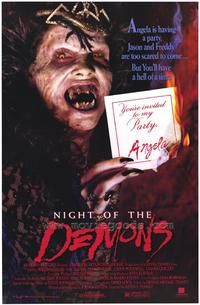 Night of the Demons - 43 x 62 Movie Poster - Bus Shelter Style A