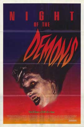 Night of the Demons - 27 x 40 Movie Poster - Style B