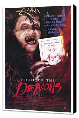 Night of the Demons - 27 x 40 Movie Poster - Style A - Museum Wrapped Canvas