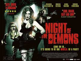 Night of the Demons - 11 x 17 Movie Poster - Style A