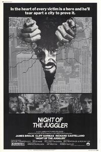 Night of the Juggler - 27 x 40 Movie Poster - Style A