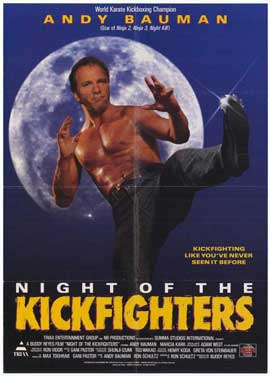 Night of the Kickfighters - 27 x 40 Movie Poster - Style A