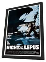 Night of the Lepus - 11 x 17 Movie Poster - Style B - in Deluxe Wood Frame