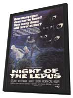 Night of the Lepus - 27 x 40 Movie Poster - Style B - in Deluxe Wood Frame